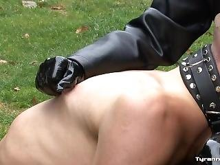 Mistress Trains Her Pathetic Dog Slaves