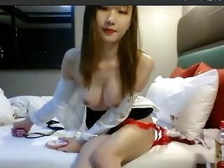Korean Bj Dasom (??) - Skirt And Tie, Showing Pussy, Squirting Orgasm