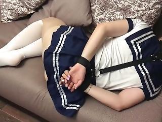 Bound Schoolgirl
