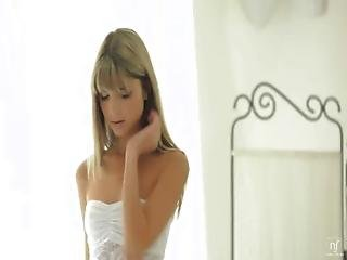 Nubile Films - Tight Little Pussy Stuffed Full Of Cock