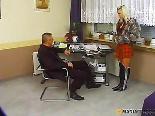 Hooker In The Office Sucks Dick Guy