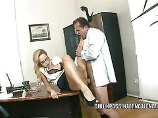 Aleska Diamond Lifts Her Skirt To Get Fucked
