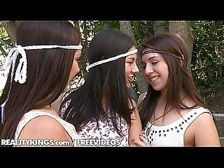 Reality Kings - Hippy Lesbian Threesome With Jenna