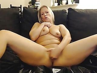 Blonde Wife Masturbates And Squirts