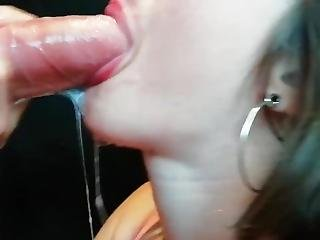 Sloppy Blowjob With Gagging, Deepthroat, Lot Of Saliva & Facial Cumshot