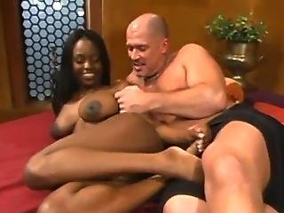 Submissive Afro Female Inside The Hard Fucking Bump