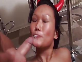 Horny Danish Vanessa In A Threesome