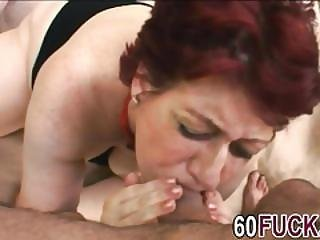 Sex-crazed Granny Tamara Gives Head And Moans While Getting Fucked