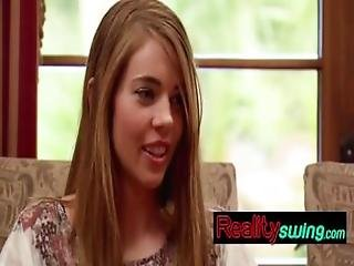 Hot Swinger Couple Doing A Steamy Foreplay