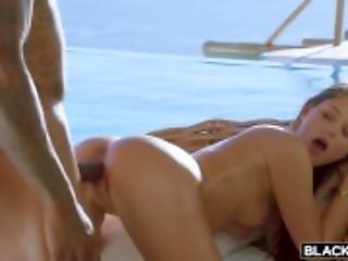 asiatique, bonasse, grosse bite, bikini, black, blonde, couple, cowgirl, deepthroat, naturel, seins naturels, extérieur, star du porno, vaginal
