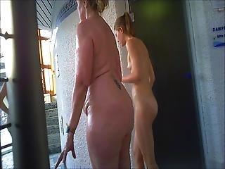 Steam Bath In Sauna