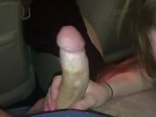 Stripper Blows Me In The Car Till I Squirt In Her Mouth