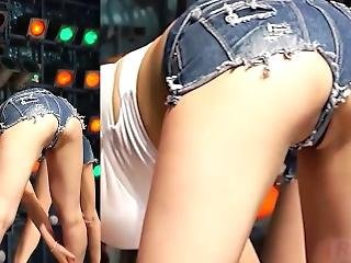 Hottest Kpop Dancer Ever Show Half Pussy In Live Performance
