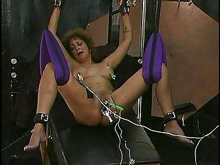 Mature Bitch In A Daring Bondage Performance
