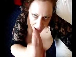 Ugly Brunette Milf Knows How To Grow Cocks Hard With Her Blowjob Skills!
