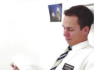 Homo Mormon Solo Tugging