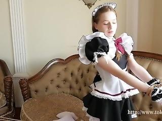 kunst, luder, cosplay, süss, fetisch, dienstmädchen, russisch, kleine titten, solo, Jugendliche
