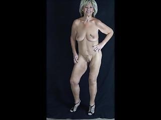 Milf Dancing & Stripping Off A Bikini