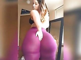White Girl With Super Huge Ass Compl
