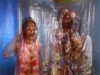 Asian Girls Pied And Slimed 10
