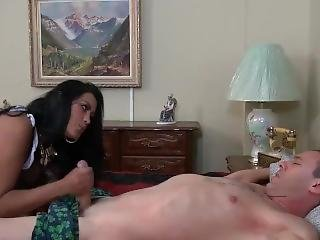 bondage, fetish, handjob, kildrende