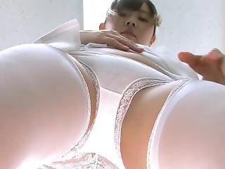 fetish, giapponese, mutandine, punto di vista, uniforme