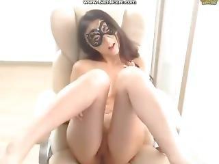 ερασιτεχνικό, μελαχροινή, κορεάτικο, αυνανισμός, οριεντάλ, webcam