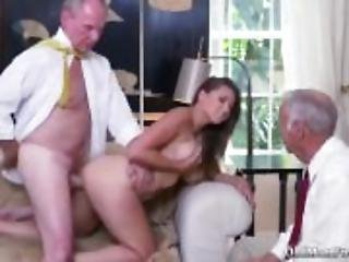 Old teacher anal Ivy impresses with her