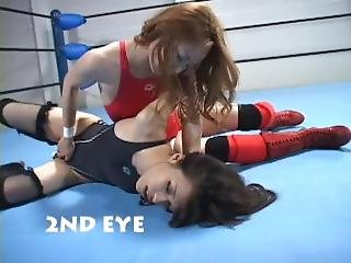 Japan Lesbian Prowrestling Catfight 301