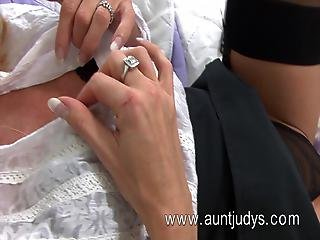 A 45 Year Old Shows Her Goodies
