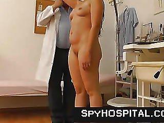 Old Strange Doctor With A Hidden Livecam