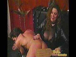 Busty Brunette Harlot Enjoys Spanking Her Extremely Horny And Hung Man