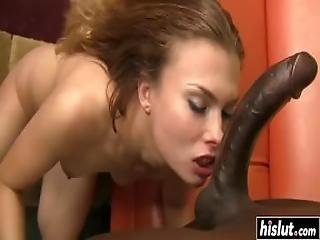Dannica Enjoys A Big Black Cock
