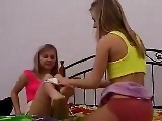 blonde, gode, lesbienne, orgasme, Ados, jumelles