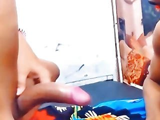 Slutty Lady-boy Duet Having Coarse Anal Act