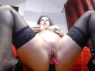 Transparent Latex Outfit_4 Anal Dildo Orgasm