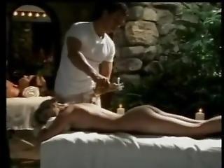 Two Hot Babes Massaged