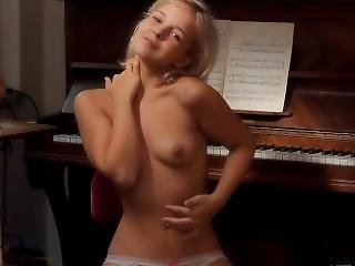 Monroe Plays The Piano And With Herself