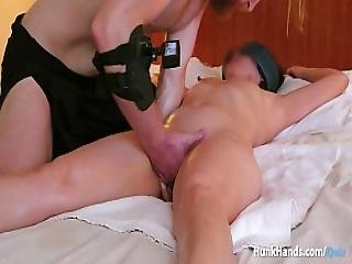 Her Chinese Husband Waited In The Lobby While We Filmed.. Squirt Massage