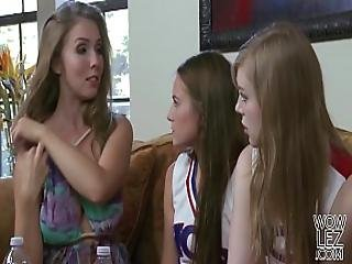 Lena Paul Helps On Her Younger Lesbian Friend Scarlett Sage