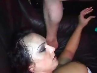 Slut Teen Give Her Ass To Strangers At Party