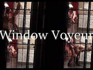 Window Voyeur Catches Couple Fucking - Ideallynaked