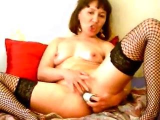 Horny Milf Solo Anal