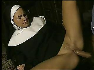 Horny Nun Fucking And Facial