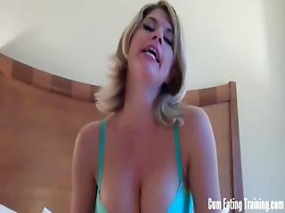Horny Boys Like You Have To Eat Your Own Cum Cei
