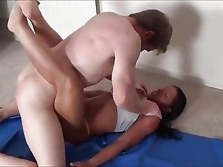 Stepson Overpowers His Stepmom