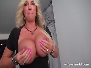 Wifey Wants To Swallow Some Cum