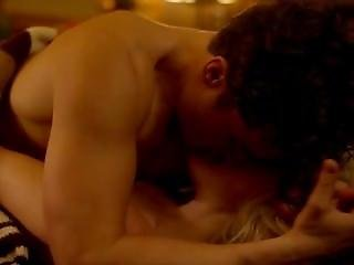 Malin Akerman And Kate Micucci Topless Threesome With Orlando Bloom