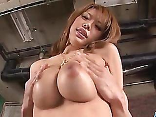 Japanese Milf With Huge Tits, Haruka Sanada, Loves Fucking Hard