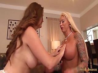 Busty Allison Moore Eating Out Lolly Ink
